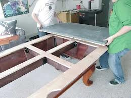 Pool table moves in Decatur Illinois